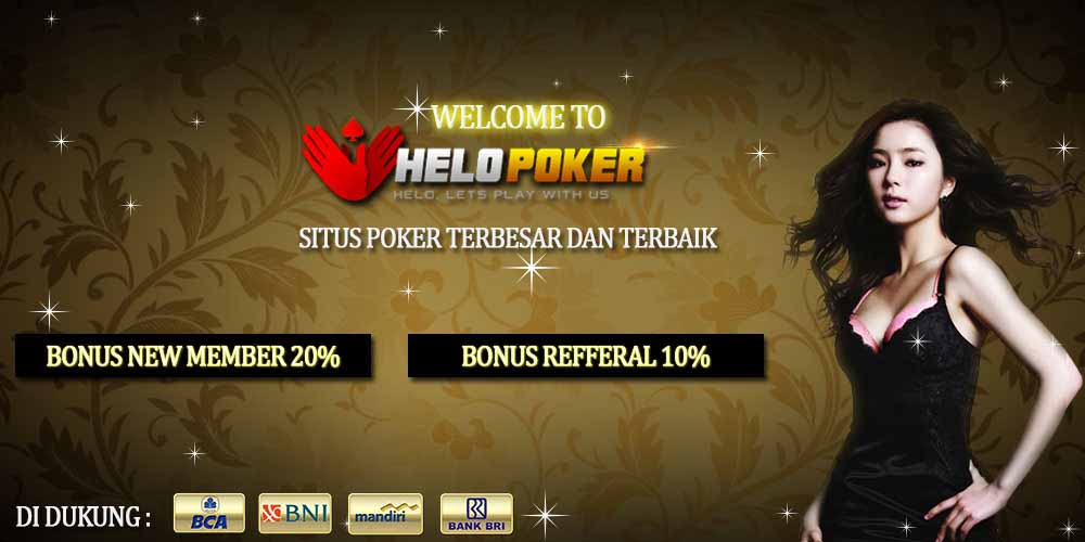 Bonus judi poker online terbaik